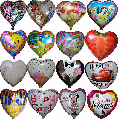 Themed Heart Balloon Birthday Wedding Party Supplies Centerpiece Gift Decoration • 1.40£
