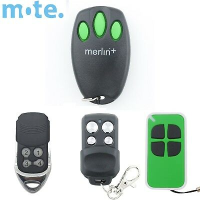 AU33.95 • Buy Merlin+ C945 CM842 Genuine/Compatible Garage/Gate Door Remote MR600 MR650 MT60