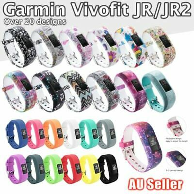 AU5.99 • Buy For GARMIN VIVOFIT JR JR 2 Band Replacement Silicone Wrist Strap Junior Fitness