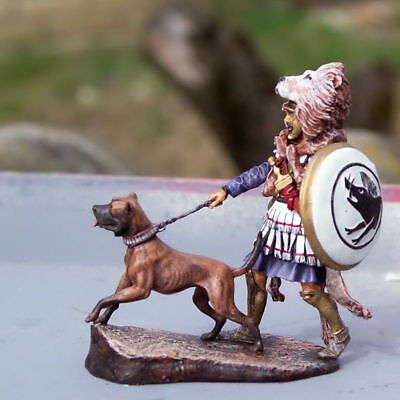 £80 • Buy Toy Lead Soldier,Royal Roman With The Dog,hand Painted,very Detailed,rare,gift