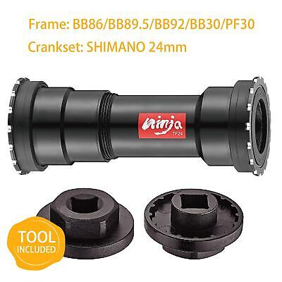 TOKEN Thread-Press Fit Bottom Bracket For BB86/BB89.5/BB92/BB30/PF30 To Shimano • 40.75£