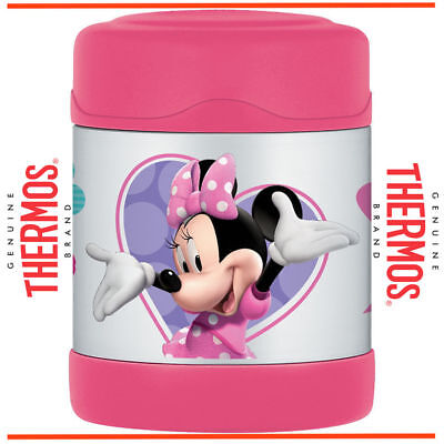 AU29.45 • Buy ❤ Thermos STAINLESS STEEL Vacuum Insulated Food Jar Container 290ml Minnie Mouse