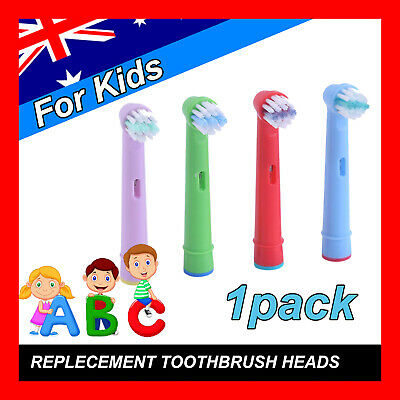 AU4.69 • Buy Children Kids Electric Toothbrush Heads Oral B Compatible Replacement Brush 4pcs