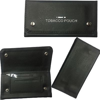 UnisexTobacco Pouch Rizla Purse Soft PU Leather Fully Lined Tobbaco Wallet Tin  • 2.99£
