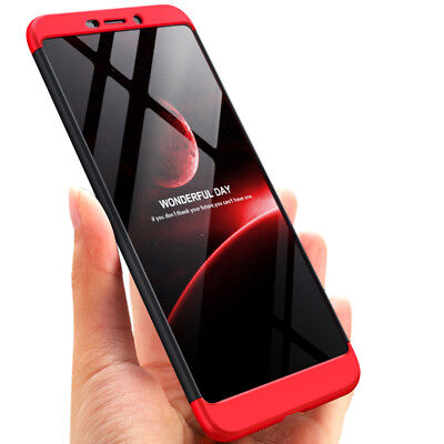AU10.98 • Buy For Nokia 6 2018 7 Plus Thin Full Protector Case PC+Glass Screen Protector Cover