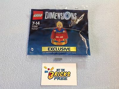 AU79.99 • Buy Lego Dimensions 71340 Supergirl Polybag New/Sealed/Retired/Hard To Find