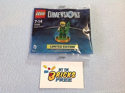 AU14.99 • Buy Lego Dimensions 71342 Green Arrow Polybag New/Sealed/Retired/Hard To Find