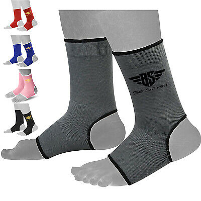 £4.63 • Buy Ankle Support Foot Brace Guard Elasticized Sports Shin Protector Feet MMA