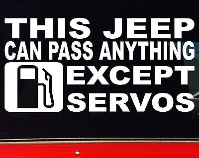 AU6.90 • Buy THIS JEEP Tj Jk 4x4 Car Accessories Wrecking Funny Stickers 200mm