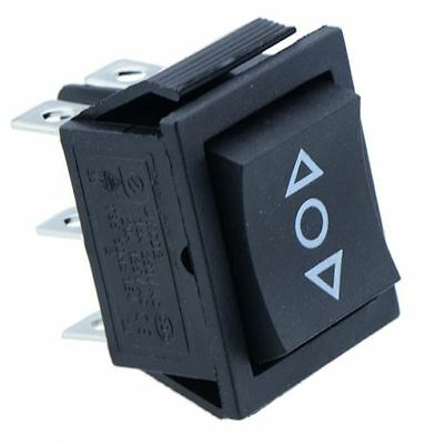 (On)-Off-(On) Momentary Rectangle Rocker Switch DPDT Crane Toy Winch  • 2.49£