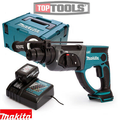 Makita DHR202Z 18V SDS+ Hammer Drill With 1 X 3Ah Battery, Charger, Case & Inlay • 227.50£