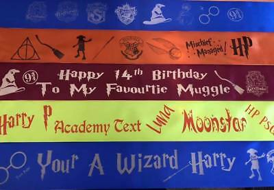 £3.45 • Buy Harry Potter Themed Personalised Sash Hen Party Birthday