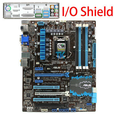 AU147.03 • Buy ASUS P8Z77-V LE PLUS  Intel Motherboard LGA 1155 DDR3 I/O Shield Tested