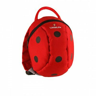 LittleLife Ladybird Toddler Backpack With Rein • 13.99£