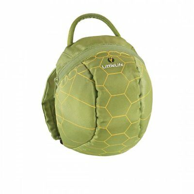 LittleLife Turtle Toddler Backpack With Rein • 13.99£