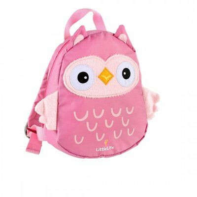 LittleLife Owl Toddler Backpack With Rein • 13.99£