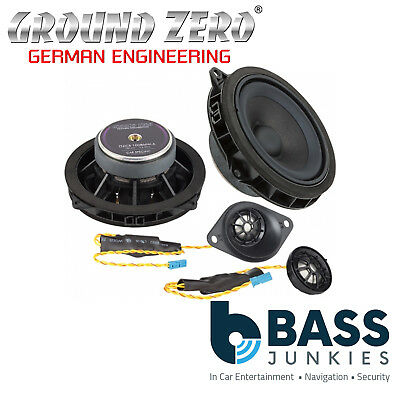 Ground Zero BMW 1 Series 2011 Onwards 4  2-Way Component Front Car Speakers • 244.99£