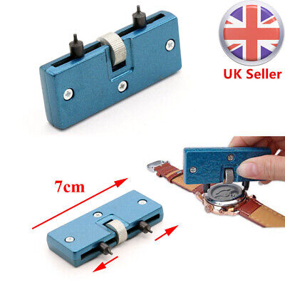 £3.86 • Buy Watch Back Case Opener Battery Cover Remover Screw Wrench Repair Tool Kits Sets