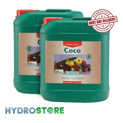 Canna Coco A & B - 5 Litres Of Each. 5L. 5ltr. Plant Nutrient. Hydroponics. • 38.47£