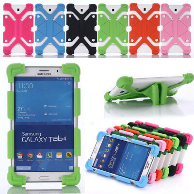 AU16.99 • Buy For 8  Inch Most Tablet Shockproof Silicone Universal Flexible Soft Case Cover
