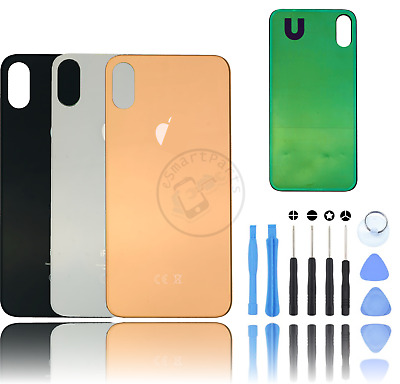 AU14.27 • Buy Rear Back Glass Housing Battery Case Cover Replacement For Apple IPhone X & XS