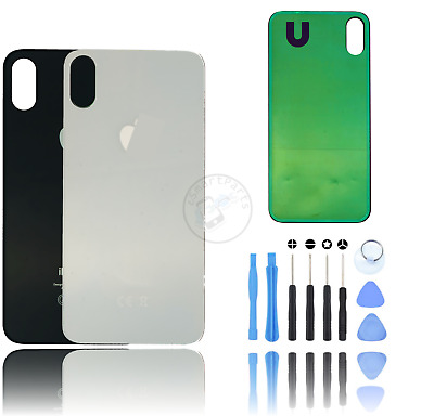 AU14.27 • Buy Back Rear Glass Housing Battery Case Cover Replacement For Apple IPhone X