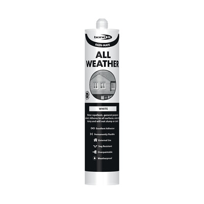 £8.99 • Buy  Rain Mate All Weather Rubber Waterproof Sealant, Clear Black & White From £5.99