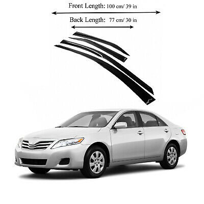 $26.95 • Buy Toyota Camry 07-11 Side Window Vent Visor Sun Rain Deflector Guard 4-Pieces