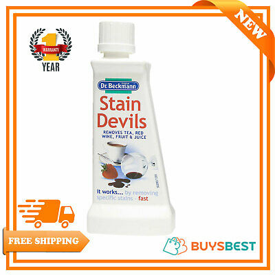 Dr Beckmann Stain Devils For Tea Red Wine & Fruit Juice 50ml-Very Effective 6562 • 2.49£
