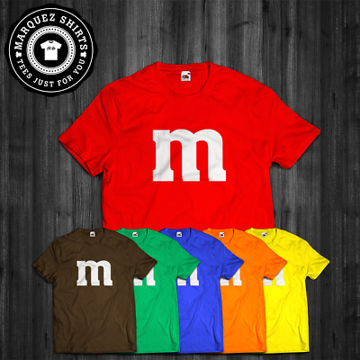 £10.90 • Buy T Shirt M & M Halloween Candy Costume Gift Funny Tee