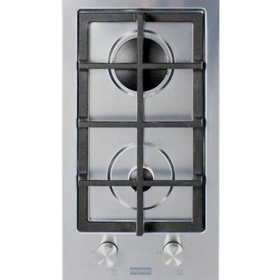 AU956.95 • Buy Franke DESIGNER GAS COOKTOP 30cm 2-Burners Automatic Ignition, Stainless Steel