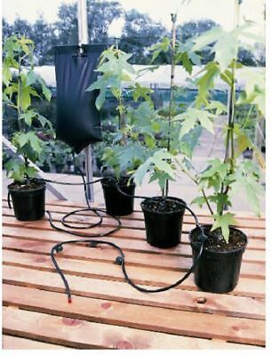 Instant Drip Watering Gravity Fed Irrigation Plants Greenhouse System Water Kit • 7.90£