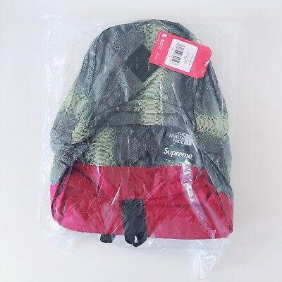$ CDN251.77 • Buy Supreme The North Face Snakeskin Lightweight Day Pack Green New Ss18 In Hand