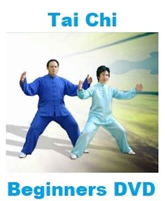 Tai Chi DVD Beginners Guide Gentle Exercise Relaxation Peace Stamina Meditation • 2.90£