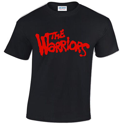 THE WARRIORS Mens T-Shirt COOL RETRO FILM MOVIE 80'S HIPSTER CULT TV VINTAGE • 9.99£