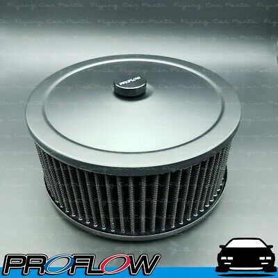 AU51.98 • Buy PROFLOW Black Air Filter Cleaner Assembly 9  X 4  Washable Reusable