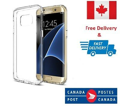 $ CDN4.60 • Buy Samsung Galaxy S7 Edge Soft TPU Gel Ultra Clear Transparent Slim Case Cover