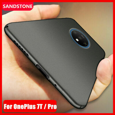 AU4.10 • Buy For OnePlus 7T 7 Pro 6 3 3T 5 5T Ultra Slim Sandstone Hard Back Cover Phone Case
