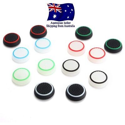 AU4.25 • Buy 4 X Analog PS4Controller Thumb Stick Grip Thumbstick Cap Cover Xbox One Joystick