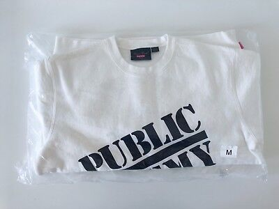 $ CDN313.35 • Buy Supreme/UNDERCOVER/Public Enemy Crewneck Sweatshirt Box Logo White Size Medium M