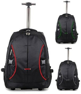 £27.95 • Buy Starlite Lightweight Strong Cabin Size Laptop Backpack On Wheels Suitcases
