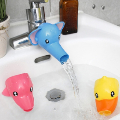 $7.66 • Buy Cartoon Bathing Accs Water Faucet Extender For Kid Hand Washing Child Sink Guide