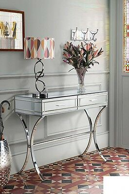 £319.90 • Buy Venetian Glass Mirrored Furniture Table Modern Hall Console Large Contemporary
