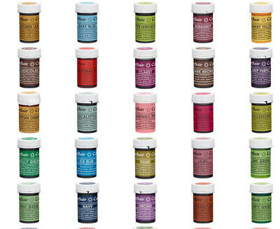 Sugarflair Concentrated SPECTRAL 25g Food Colouring Paste Gel 50+ Colours • 4.49£