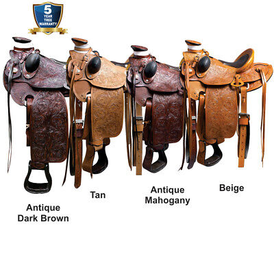 antique horse saddle
