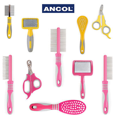 £4.99 • Buy Ancol Grooming Tool Cat Small Animal Slicker Brush Comb Nail Clipper Moulting