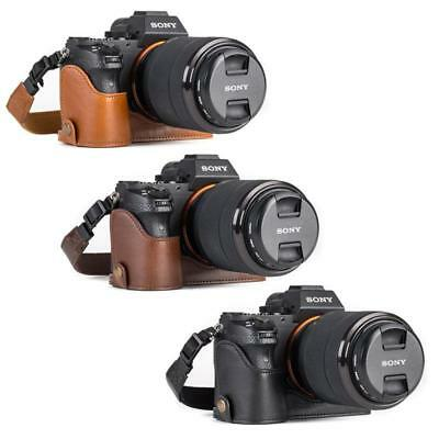 $ CDN37.58 • Buy MegaGear Leather Camera Case For Sony Alpha A7S II, A7R II, A7 II With Strap