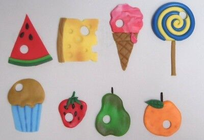 4 VERY HUNGRY CATERPILLAR CAKE TOPPERS Edible Handmade Cupcake Ice Cream Lolly • 10£