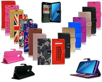 AU6.21 • Buy For Samsung Galaxy J6 2018 J600 New Black Leather Flip Wallet Phone Case Cover