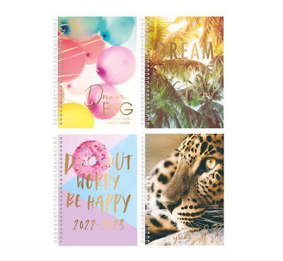 £3.35 • Buy 2021-2022 Academic Diary A5 Week To View  Hardback Spiral Student Teacher Diary